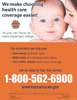 We make choosing health care coverage easier baby poster