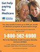 Get help paying for Medicare poster with two caucasion ladies