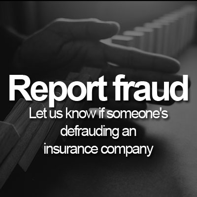 Report fraud to CIU